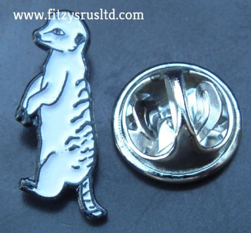 Meerkat Lapel Hat Tie Pin Badge Animal Brooch - suricate Suricata suricatta